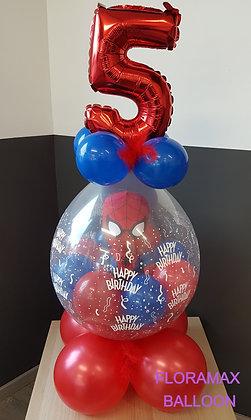 Ballon magique Spiderman    Ref  :  BM2016