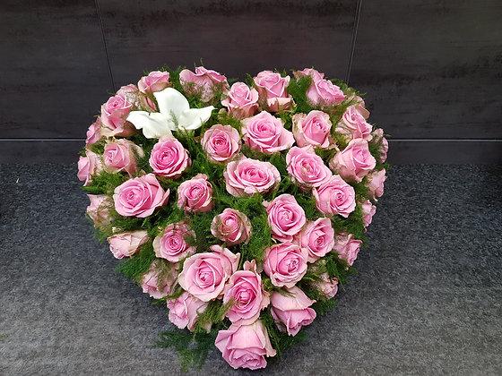 Coeur Blanc / Rose (CO280)