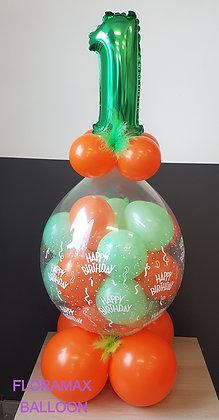 Ballon magique rempli de ballons