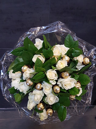 Bouquet blanc gourmand