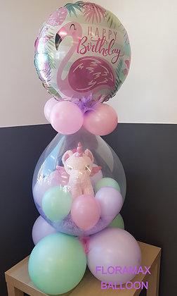 Ballon magique licorne