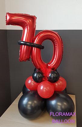 Ballon anniversaire      Ref :    SB1027