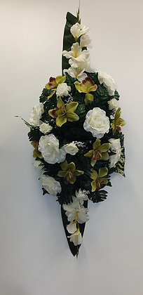 Coussin Blanc/Vert (BU024)