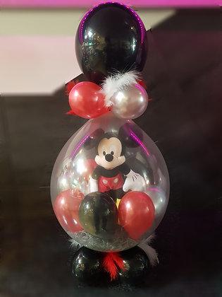 Ballon magique Rouge /Noir