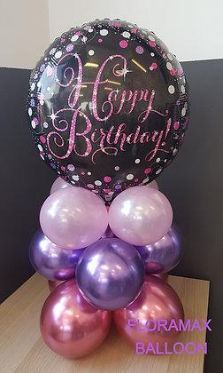 Bubble happy birthday  Ref :    SB1055