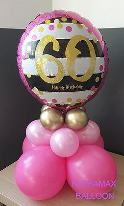Bubble 60 ans    Ref   SB1074