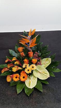 Pied de tombe Orange (CN86)