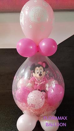 Ballon magique Minnie peignoir   Ref  :  BM2030