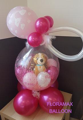 Ballon magique La Belle