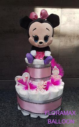 Gâteau de couches Minnie 437