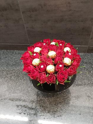 Beauté rouge (praliné)