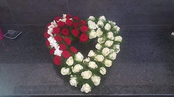 Cœur Rouge / Blanc (CN96)