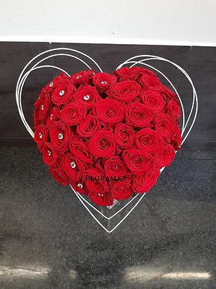 Bouquet en cœur