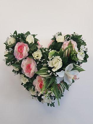 Cœur Blanc/Rose (CO011)