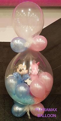 Ballon magique fille et garçon