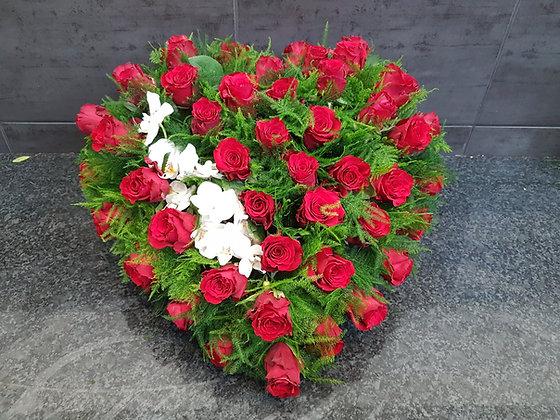 Coeur Rouge / Blanc (CO281)