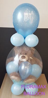 Ballon magique ours brun