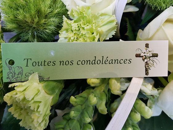 Toutes nos condoléances