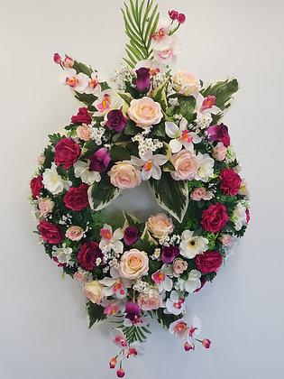 Couronne Fuchsia/Rose (COU010)