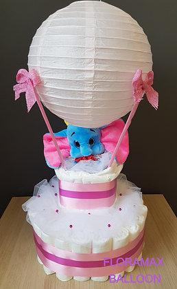 Gâteau de couches montgolfière Dumbo 430