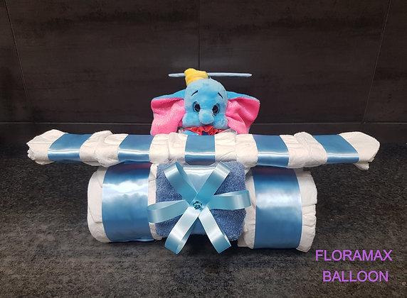 Avion de couches Dumbo