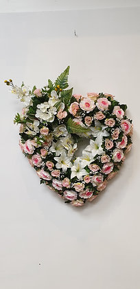 Coeur Rose / Blanc (CO050)