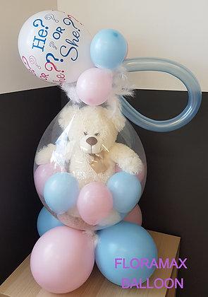 Ballon magique gender reveal