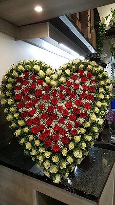 Cœur Rouge / Blanc (CN104)