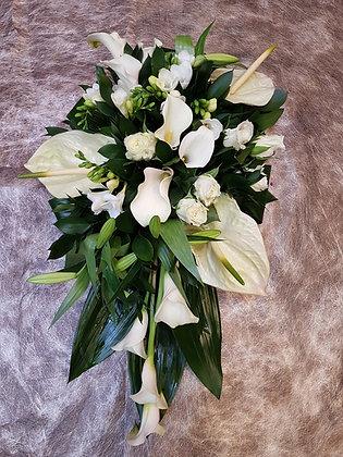 Coussin Blanc/Vert (CN291)