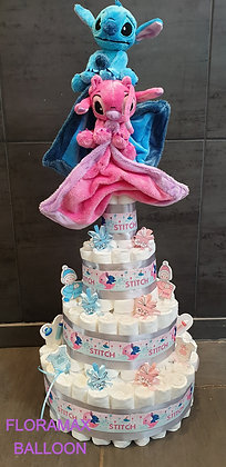 Gâteau géant stitch et angel 200