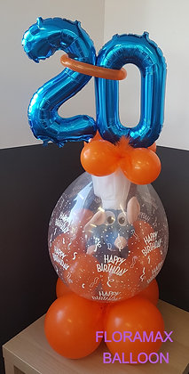 Ballon magique Ratatouille   Ref  :  BM2059