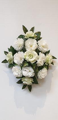 Coussin Blanc / Vert (BU140)
