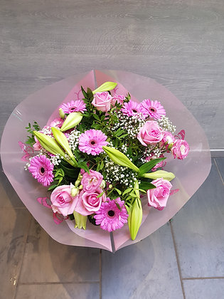 Bouquet Pinky