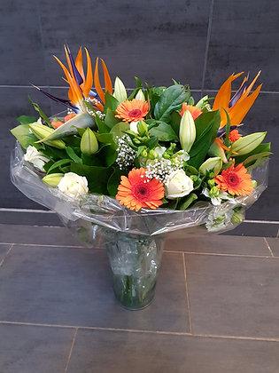Bouquet de Strelitzia