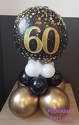 Bubble 60 ans     Ref :    SB1021