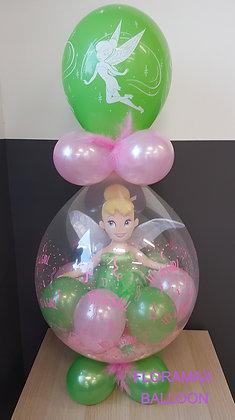 Ballon magique fée clochette