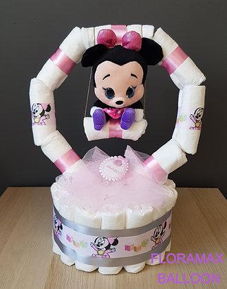 Gâteau de couches balançoire Minnie