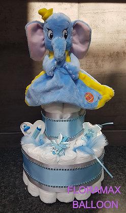 Gâteau de couches Dumbo