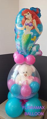 Ballon magique ours rose Ref  :  BM2064