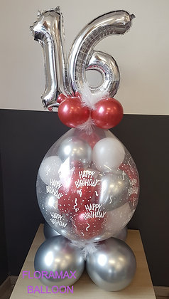 Ballon magique rempli de ballons Ref  :  BM2067