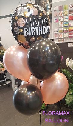 Grappe de ballons hélium      Ref :    SB1060