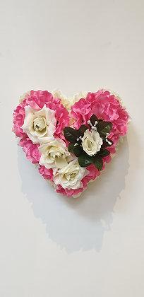 Coeur Rose / Blanc (CO046)