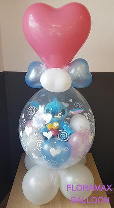 Ballon magique Amour Stitch   Ref  :  BM2046