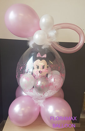 Ballon magique Bébé Minnie    Ref  :  BM2010