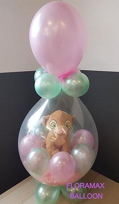 Ballon magique Nala   Ref  :  BM2019