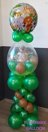 Ballon magique sur colonne