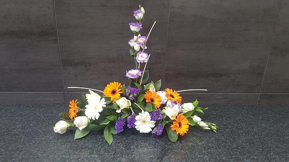 Pied de tombe Violet / Jaune (CN72)