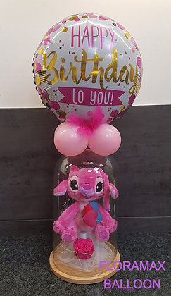 "Veilleuse Angel ""happy birthday"""