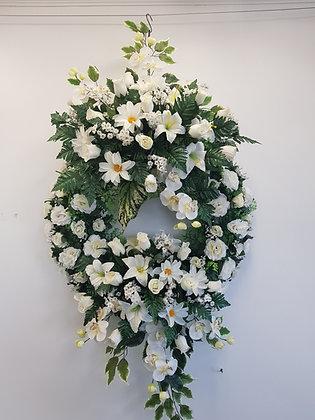 Couronne Blanc/Vert (COU008)