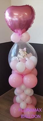Ballon magique sur colonne Ref  :  BM2066
